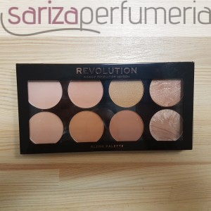 MAKEUP REVOLUTION Ultra Professional Bronze Palette paleta bronzerów All About Bronze 13g
