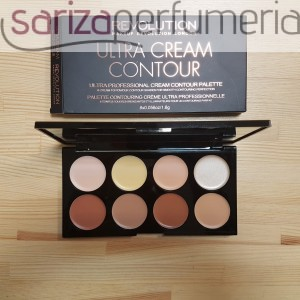 MAKEUP REVOLUTION Ultra Cream Contour Palette paleta do konturowania twarzy 13g