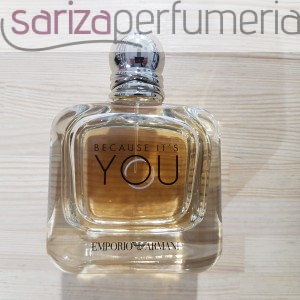 G. ARMANI EMPORIO BECAUSE  ITS YOU  Edps 100ml .E.