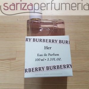BURBERRY HER EDPS 100ML